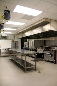 The commercial Chef's Kitchen